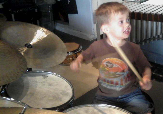 Cyrus, Drums